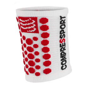 Compressport 3D Dots Warmer red/white